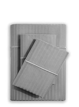 Feather & Stitch 500 Thread Count 100% Cotton Sheet Set, Str
