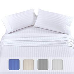 Premium Quality 500 Thread Count 100% Pure Cotton Sheets - 4