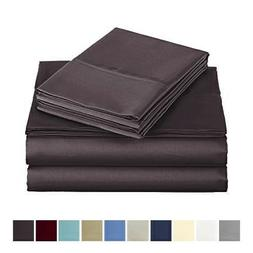 Audley Home 500 Thread Count Bed Sheet Set 100% Egyptian Cot
