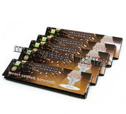 5×32 Sheets CHOCOLATE Flavored Cigarette Tobacco Rolling Pa
