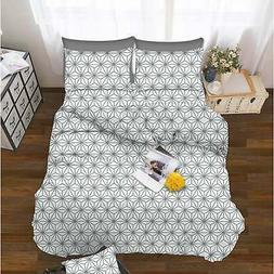 Elegant Comfort 6-Piece Cube Pattern Bed Sheet Set