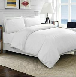 600 TC Egyptian Cotton White Solid US Sizes Sheet Set/Duvet/