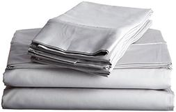 600 Thread Count 6-Piece Egyptian Cotton Sateen Deep Pocket