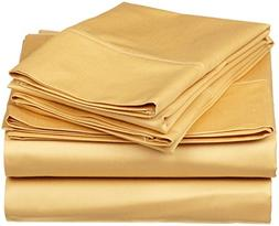 JB Linen 600 Thread Count 100% Pure Egyptian Cotton 4-Piece