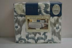 800 king 6 pc printed sheet set