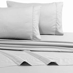 Tribeca Living 800TC Egyptian Cotton Sateen 4-Piece Sheet Se