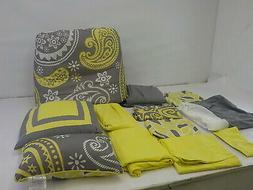 Chic Home Olivia 20-Piece Comforter Set Reversible Paisley P