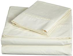 Egyptian Cotton Percale 350 Thread Count Deep Pocket Sheet S