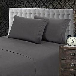 Elegant Comfort King Size Sheet Set ~ 1500 Thread Count ~ Gr