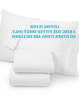 NIDP* HOTEL COLLECTION WHITE LINEN COLLECTION KING SIZE FITT