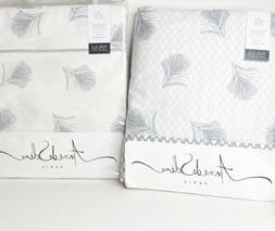 Anne De Solene Paris Plume Percale King Duvet Cover & Flat S
