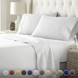 Microfiber Organic Sateen Cool Bed Sleep Soft Full Queen Kin