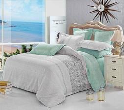 beach microfiber bedding set: duvet cover set or sheet set f