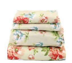 Beautiful Bedding Super Soft  Comfort 4 pcs Sheet Set Blue R
