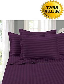 Elegant Comfort #1 Bed Sheet Set on Amazon - Super Silky Sof