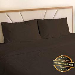 Florance Jones 4Piece Bed Sheet Set 1800 Thread Count Bamboo