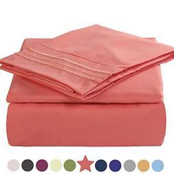 bed sheet set 1800tc bedding