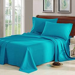 Bed Sheet Set - 1800 Series Platinum Collection - 100% Brush
