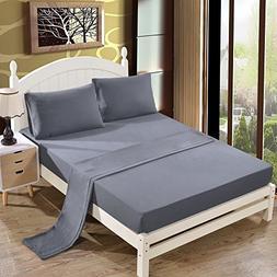 Bed Sheet Set - 1800 Series Platinum Collection - 100% Brush