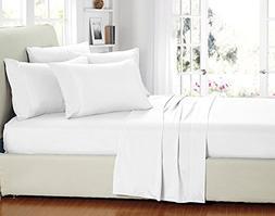 ARlinen #1 Bed Sheet Set 100% Egyptian Cotton 4-Piece Bed Sh
