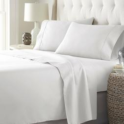 Bed Sheets Set  Platinum HC Collection 1800 Series Bedding S