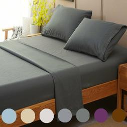 SONORO KATE Bed Sheets Set Sheets Microfiber Super Soft 1800