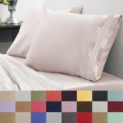 Bedroom Sheet Set 1500 Thread Count Egyptian Quality Microfi