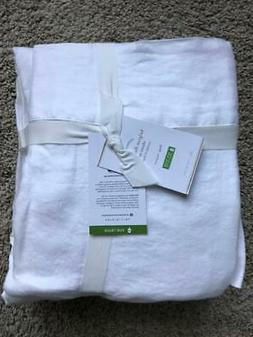 POTTERY BARN Belgian Flax Linen KING Sheets 4 Piece Set NEW