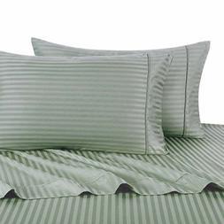 Better Homes And Gardens King Damask Stripe 300 Ct Sheet Set