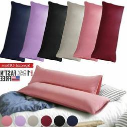Body Pillow Case Soft Microfiber Long Bedding Long Body Pill