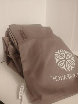 Boll and Branch NWT King Sheet Set 100% Organic Cotton Hemme