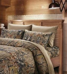 BROWN CAMO KING SIZE CAMO SHEETS!! 6 PC SET SHEETS WITH CAMO
