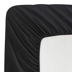 Luxe Bedding 100% Brushed Microfiber Solid Color Deep Pocket