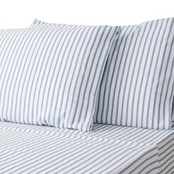 HONEYMOON HOME FASHIONS King Sheet Set Hypoallergenic & Fade