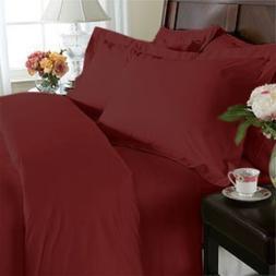 CAL KING Size 1500 Thread Count 4pcs Bed Sheet Set, Deep Poc