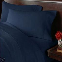 CAL KING Size 1500 Thread Count 4pc Bed Sheet Set, Deep Pock