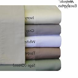 California King Eucalyptus Tencel Sheets Silky Soft and Natu