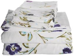Tribeca Living California King Floral Garden Printed Extra D