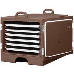 Cambro Camcarrier 1826MTC131 Dark Brown Insulated Tray / She