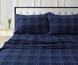 Millwood Pines Case Soft and Warm Flannel Sheet Set