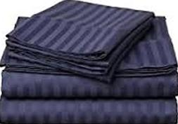 """New Collection 400tc 3 Pieces 11"""" Drop Fitted Sheet 100% org"""
