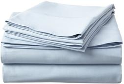 100% Combed Cotton Split King Sheet Set, 300 Thread Count, S