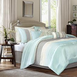 Madison Park Amherst Cal King Size Bed Comforter Set Bed in