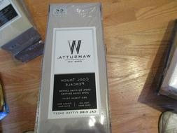 Wamsutta Cool Touch CAL KING FITTED SHEET Percale 350ct 100%
