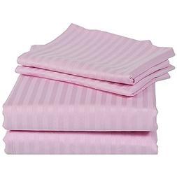 Rajlinen 100% Cotton Bed Sheet Set - 300 Thread Count Sateen