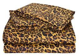 4 PCs Bed Sheet Set Bland Durable Quality Genuine 800-Thread