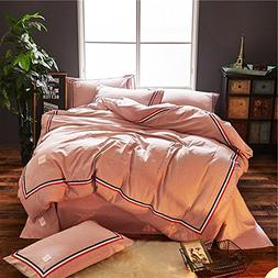 DACHUI Cotton bed sheets - 1800 beds fade, stain resistant -