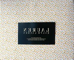 Lauren Ralph Lauren 4 Piece Cotton Queen Size Sheet Set Smal
