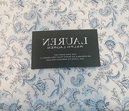 Lauren Ralph Lauren 4 Piece Cotton Sheet Set Dark and Light