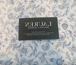 Lauren Ralph Lauren 4 Piece Cotton Sheet Set Dark and Light
